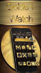 Golden Watch Theme - náhled