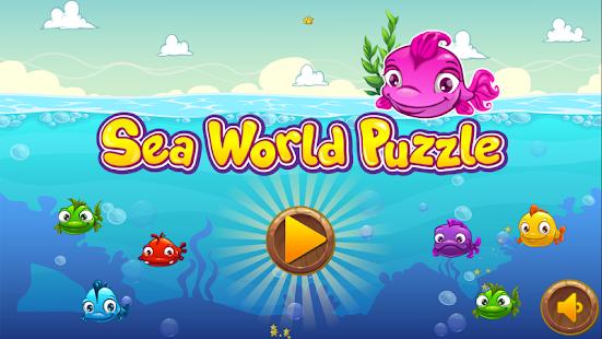 Sea World Puzzle - náhled