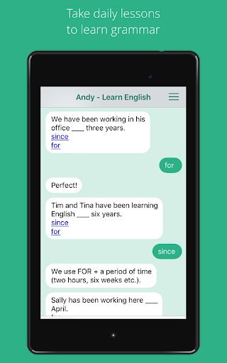 Andy - English Speaking Bot screenshot 8