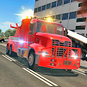 Fire Truck Flying Car icon