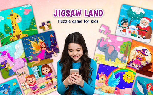 Kids Puzzles Game for Girls & Boys filehippodl screenshot 1