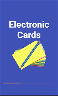 E-Cards Flashcards- screenshot thumbnail
