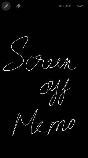 Screen off Memo for Note 4 3