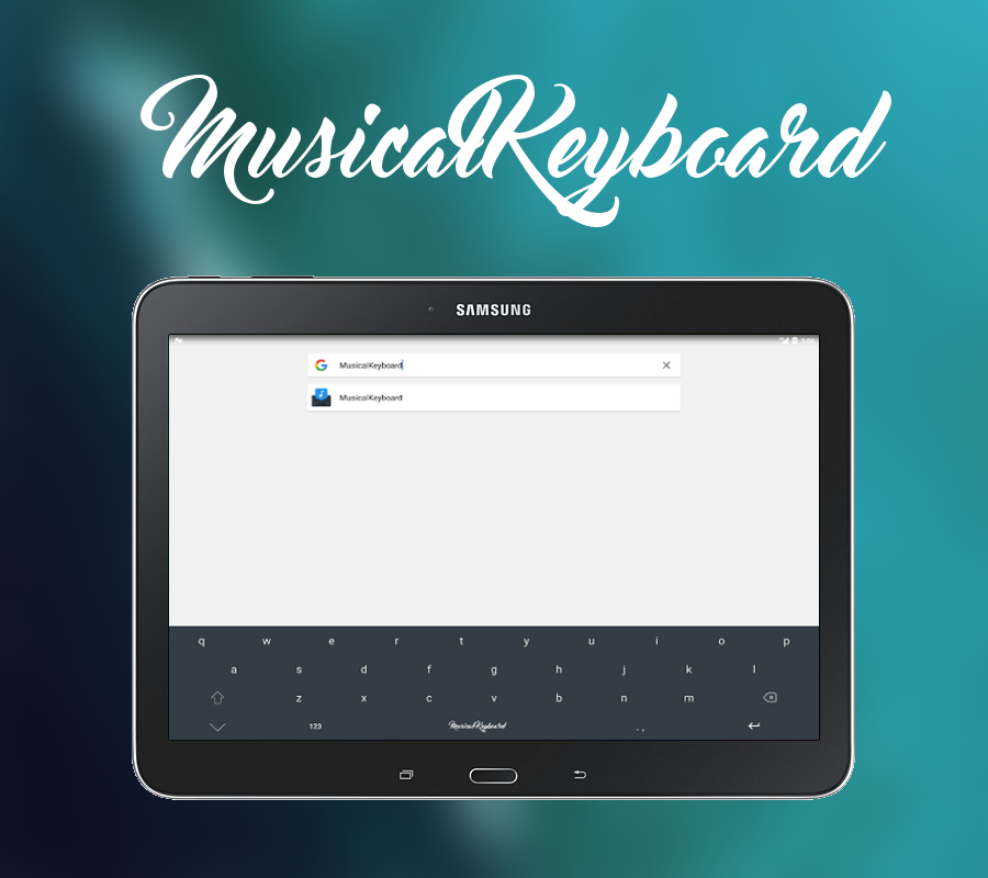 MusicalKeyboard- screenshot