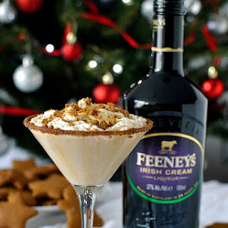Feeney's Gingerbread Latte Martini