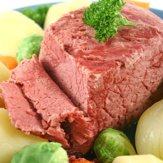 Corned Beef with Irish Mustard Sauce