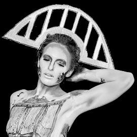 Art of Body 2 by Nenad Borojevic Foto - Black & White Portraits & People ( woman, portraits of women, portrait and people, portrait,  )