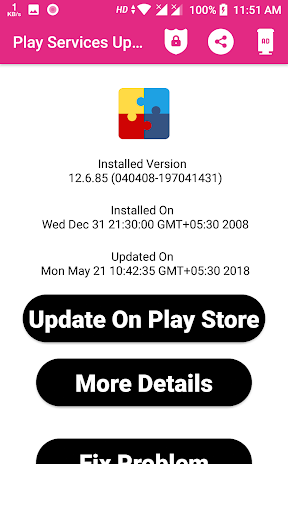Update Services For Play 1.0.10 screenshots 2