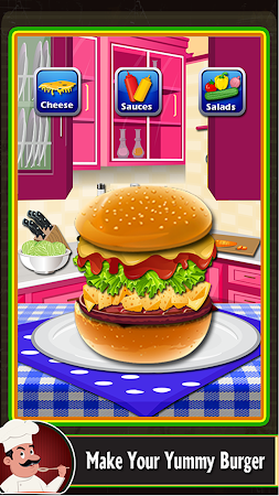 Burger Maker – Fast Food 1.0.1 screenshot 1890197