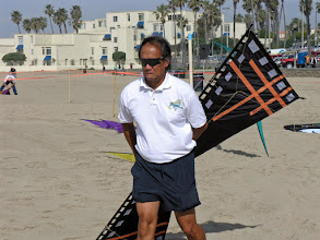 Photo: Ron told me not to post this picture as he was a sponsored flier for Revolution and this is a clone kite.
