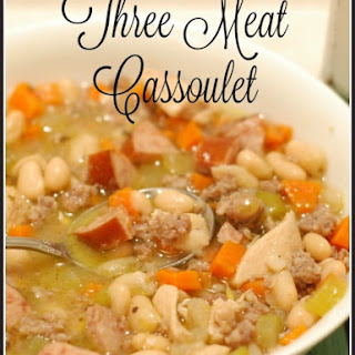 Three Meat Cassoulet
