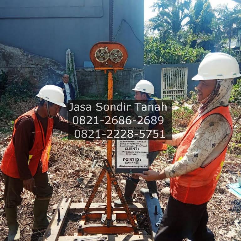 Jasa Sondir Tanah Soil Test Soil Testing Service Topografi Geolistrik Drone