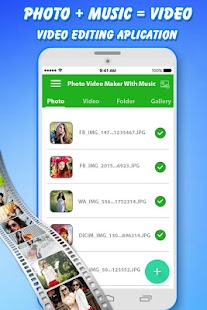 Photo Video Maker with Music - Slide Show Maker - náhled