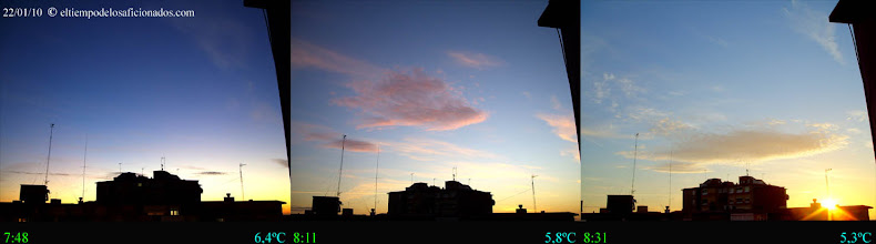 Photo: Amanecer del 22/01/10