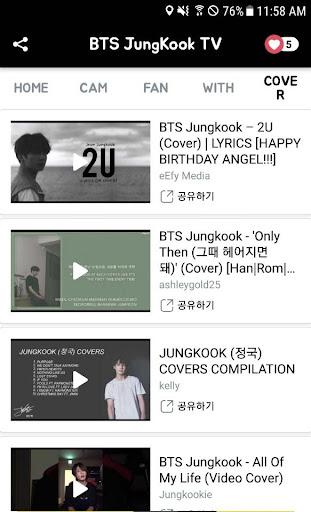 BTS JungKookTV - BTS Video 1.5.0 screenshots 3