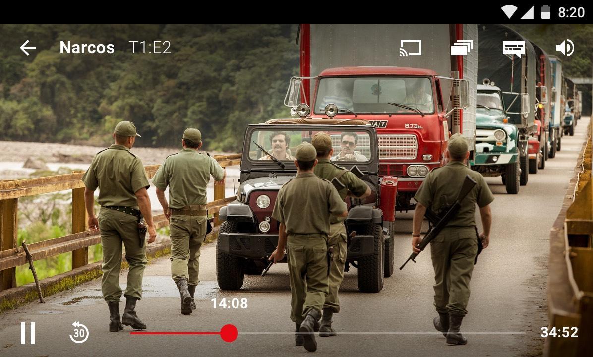Netflix: captura de pantalla