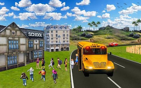 School Bus Simulator 2018 - náhled