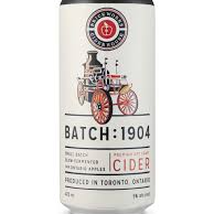 Batch 1904 Dry Cider (tall can)
