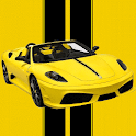 Yellow Sports Car Race icon