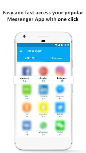 Hub Messenger - The Final All-in-One Messenger 1.0.1 screenshots 2