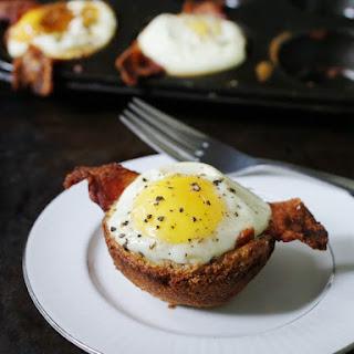 Bacon, Egg & Toast Cups.