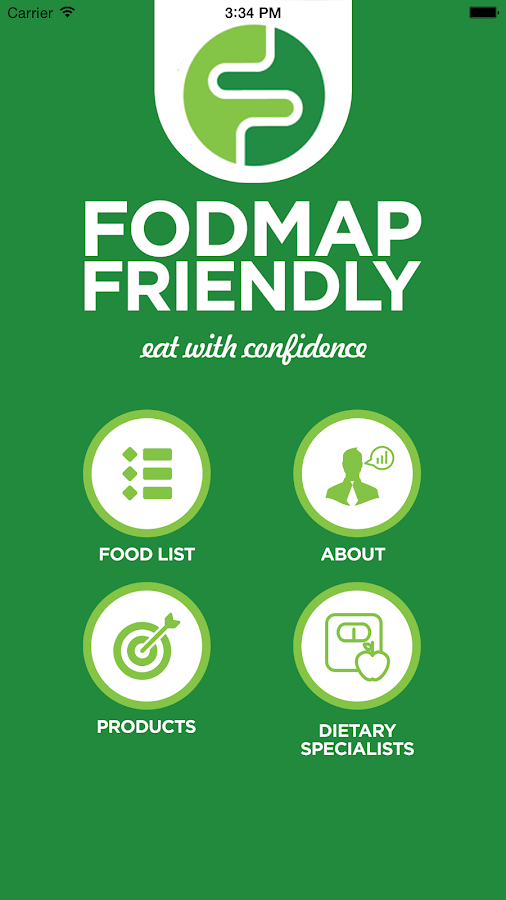 FODMAP Friendly- screenshot