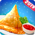 Indian Samosa Chef – Indian Cooking Express Game icon