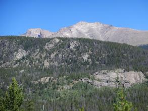 Photo: Longs Peak and Mount Meeker. Photo by Bill Walker