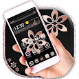 Soft Rose Gold Launcher icon