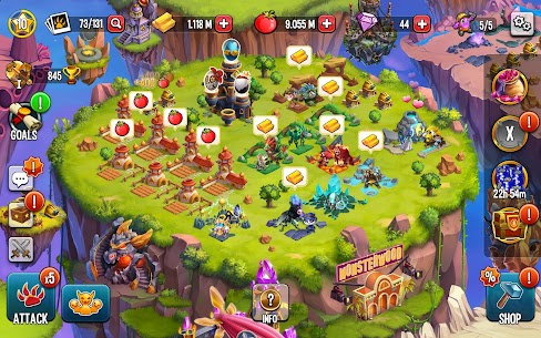 Monster Legends Mod Apk (Damage/Always 3 Stars) 12