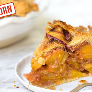Einkorn Peach Pie
