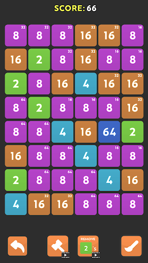 Merge Blast - NO ADS 2048 Puzzle Game android2mod screenshots 7