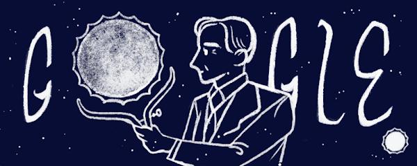 Google Doodle celebrating Indian-American physicist, Subrahmanyan Chandrasekhar