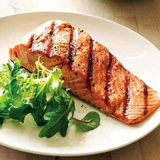 Sweet and Tangy Grilled Salmon.