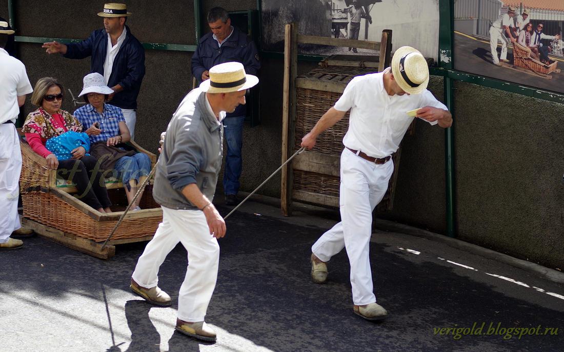 Madeira carreiros do monte toboggan