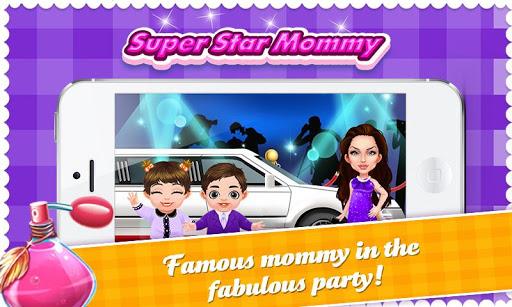 明星媽咪與她的新生小孩- 懷孕媽咪與星二代小朋友護理照顧游戲