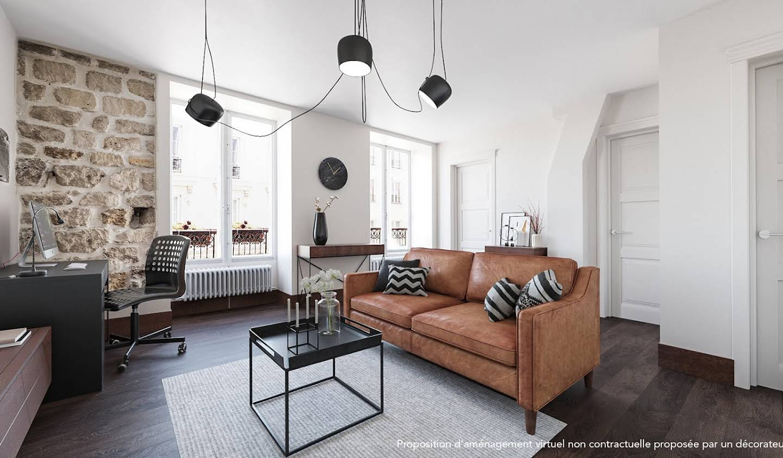 Apartment with terrace Paris 11th