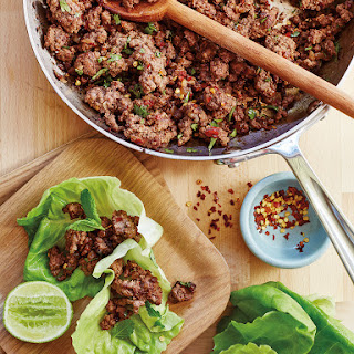 Thai Beef Lettuce Cups.