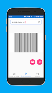 Download free QRBR | Gerador e Scanner de Códigos de Barras e QR for PC on Windows and Mac apk screenshot 5