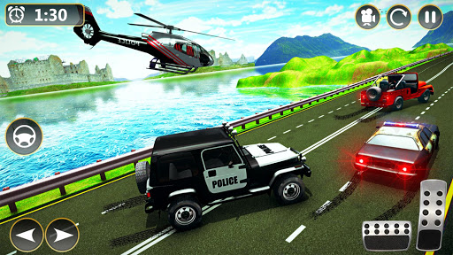 Offroad Police Jeep 4x4 Driving & Racing Simulator 1.7.4 screenshots 4