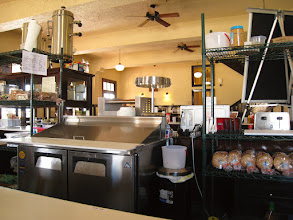 """Photo: """"The Beanery"""" at the Kelso Depot is a convenient place to stop and eat or drink something in the middle of the desert. The owner, Mike, was there and we took some time to talk a bit about the place."""