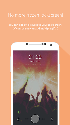 Mydol- Lockscreen, Virtual chat, Chat bot 4.2.7 screenshots 2