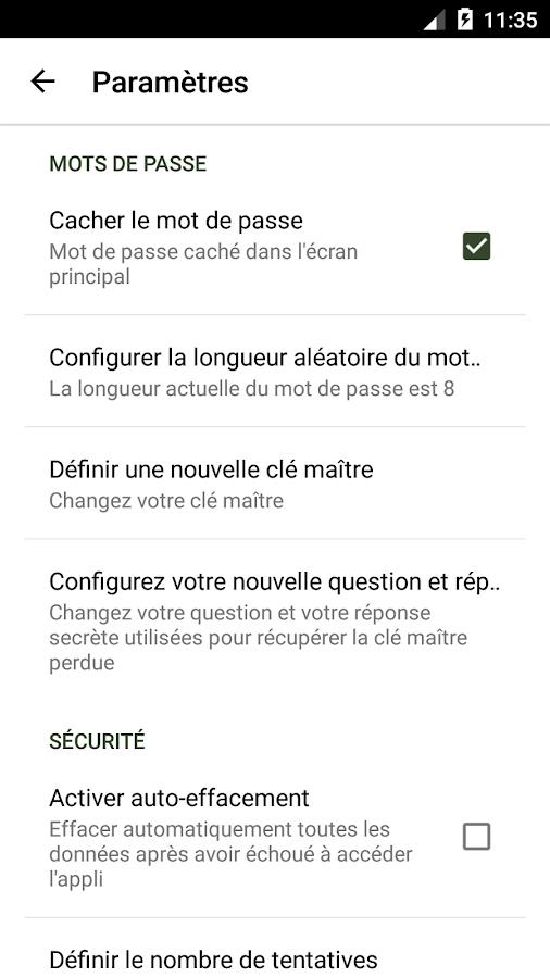 cadenas mot de passe applications android sur google play. Black Bedroom Furniture Sets. Home Design Ideas