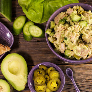 Bob Harper's Avocado Tuna Salad