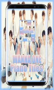Wanna One Piano Tiles - náhled