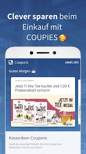 COUPIES - Spare Geld mit Coupons im Supermarkt Screenshot