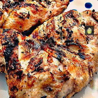 Flattened Moist BBQ Garlic & Lemon Chicken