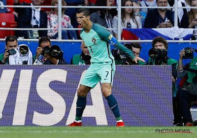 Cristiano Ronaldo doet zijn job en zo staat Portugal met één been in halve finale Confederations Cup (met beelden!)