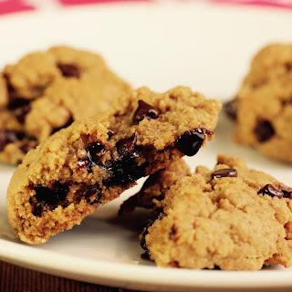 Grandma's Tahini Chocolate Chip Hiking Cookies