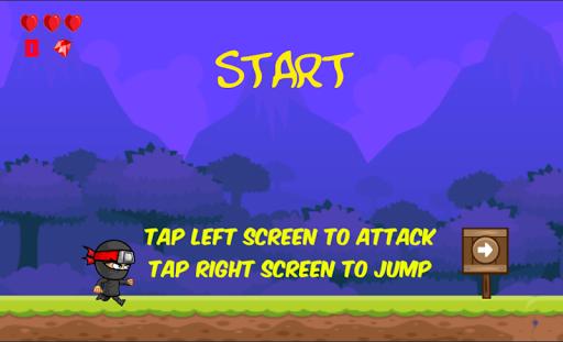 Ninja Run Out Monsters